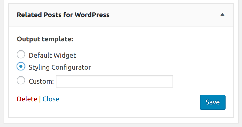 Related Posts for WP Premium new WordPress Widget